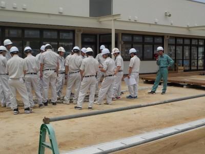 塩田工業高等学校の生徒さんが見学に来てくれました